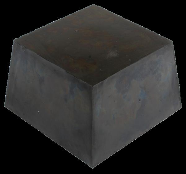 Trapez-Gummiblock, 120 x 120 x 80 mm, universal, für Slift- und IME-Hebebühnen