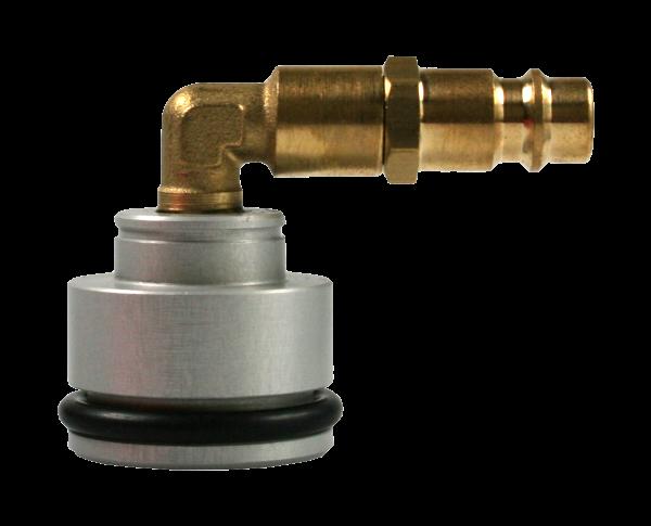 Bremsadapter Vario, Wechseldichtsatz 133, Winkel, 33 mm