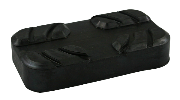 Gummiauflage für Radfreiheber passend für AC/MAHA/ROTARY