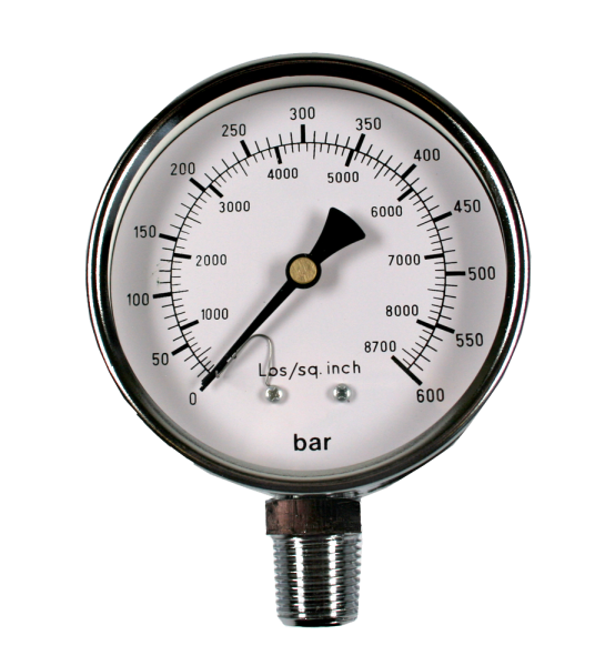 Manometer für ZA-471, 600 bar