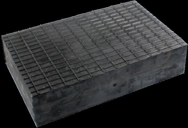 Gummiblock 50 für Hebebühnen, universal