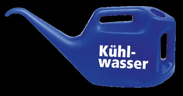 Kühlwasserkanne mit Kühlwasser-Logo, ultramarinblau, 10 l