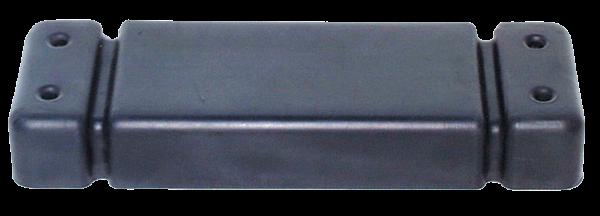 Gummischutz und Druckverteilungsplatte