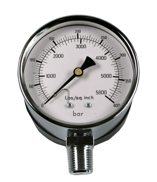 Manometer für ZA-471, 400 bar