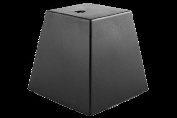 Trapez-Gummiblock, 150 x 150 x 140 mm, universal, für autop- und J.A. Becker-Hebebühnen