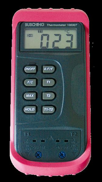 Digitales Thermometer mit Differenzmessung