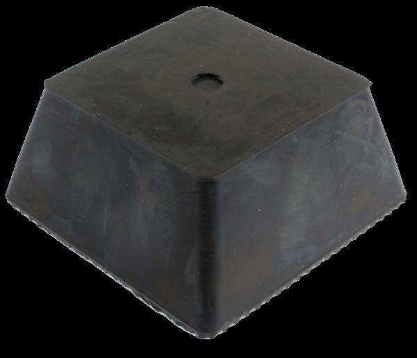 Trapez-Gummiblock, 150 x 150 x 70 mm, universal, für autop- und J.A. Becker-Hebebühnen