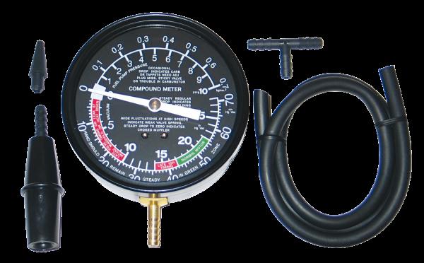 Vakuummeter und Benzinpumpen-Prüfgerät