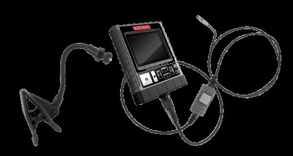 """Endoskop """"Pro3"""" mit Halterung, 2 Kameras, Boost, 4,9 mm"""