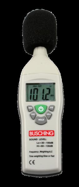 Digitales Schallpegelmessgerät, A / C, 130 dB
