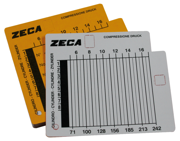 Ersatzdiagrammblätter für ZA-362
