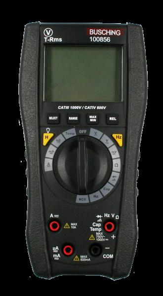 Digitales Multimeter, True-RMS, Auto-Range, CAT III / CAT IV
