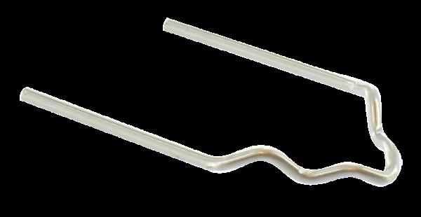 HOTMOBIL Edelstahlklammern, 0,8 mm, V-förmig