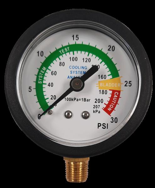 Kühlerdruckprüf-Manometer (PKW/LKW)