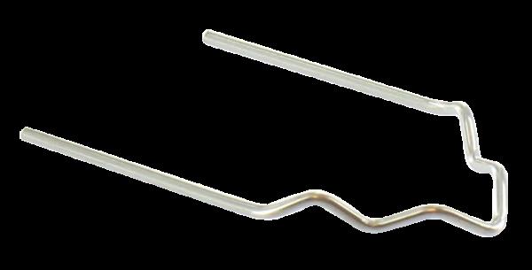 HOTMOBIL Edelstahlklammern, 0,6 mm, V-förmig