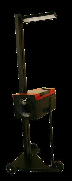 Scheinwerfer-Einstellgerät mit TÜV