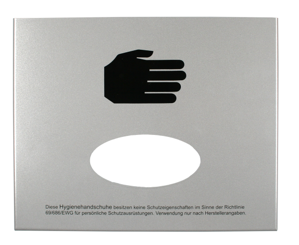 Handschuhspender, Front-Entnahme