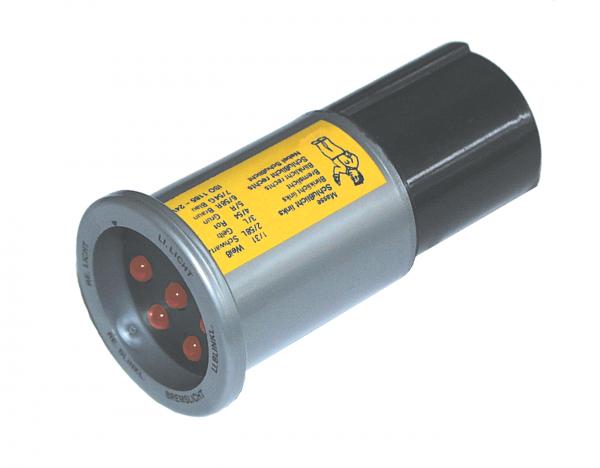 Teststecker, 24 V, 7-polig