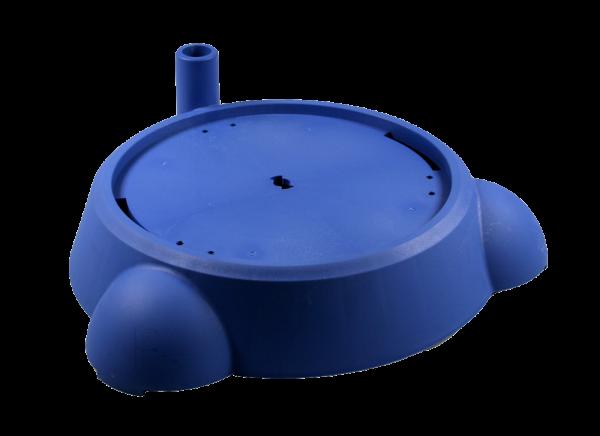 Bodengruppe 240, blau, für Vakuumpumpe 18 / 19 l
