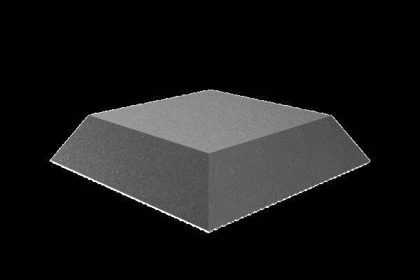 Trapez-Gummiblock, für Hebebühnen, 135 x 100 x 30 mm
