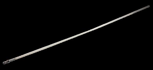 Sonde aus PVC mit Stecknippel, 9,8mm