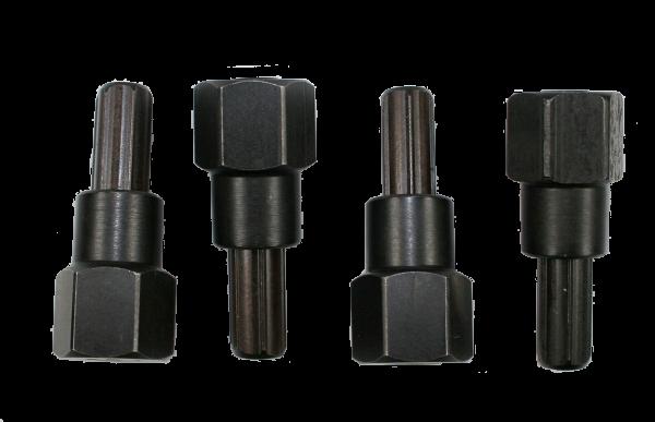 Extraktoren-Set für Felgenschlösser, 4-teilig