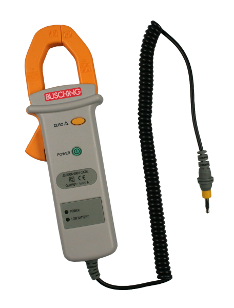 Amperemesszange für Batterietester, 600 A