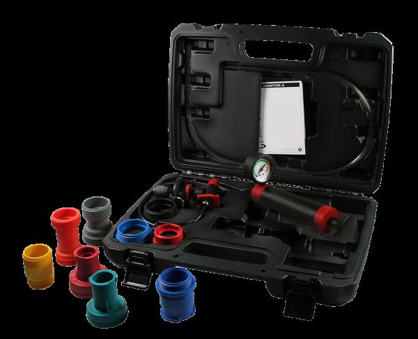 Kühlerdruckprüfgerät Premium-Set für Pkw und leichte Nfz