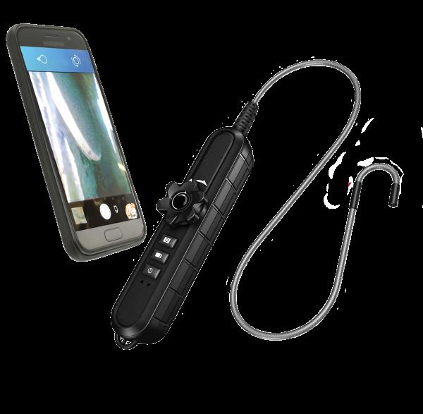 """Endoskop """"WLAN"""" mit Kamerasonde, 1-Weg, HD, 4,5 mm"""