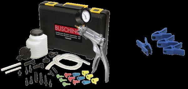 Druck- / Unterdruck-Handpumpe und Rohrleitungs-Stopper