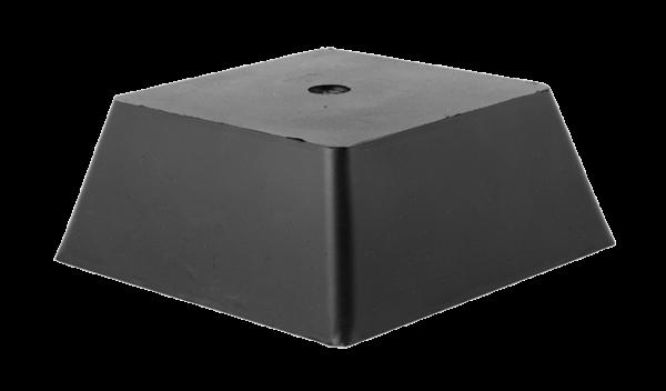 Trapez-Gummiblock, 150 x 150 x 60 mm, universal, für autop- und J.A. Becker-Hebebühnen