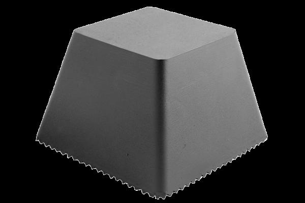 Trapez-Gummiblock, 150 x 150 x 100 mm, universal, für autop- und J.A. Becker-Hebebühnen