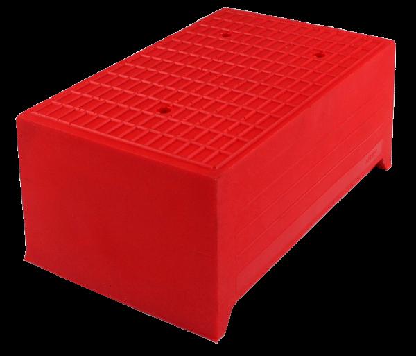 "Trapez-Gummiblock ""Redline"", 230 x 140 x 100 mm, universal"