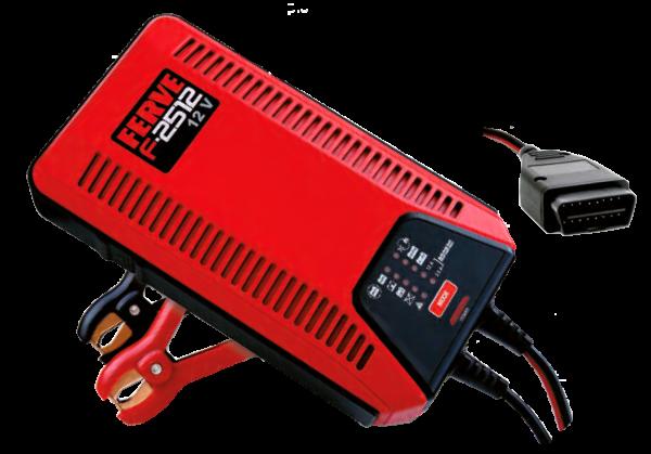 Batterieladegerät für Lithium- und Bleiakkus, 12 A, 12 V