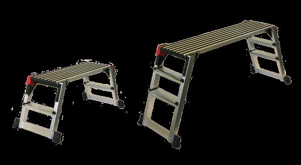 Arbeitsplattform aus Aluminium Set