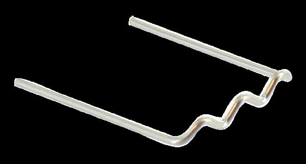 HOTMOBIL Edelstahlklammern, 0,6 mm, U-förmig