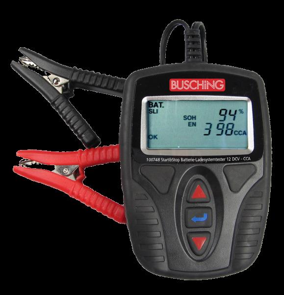 Batterietester und Ladesystemtester (12 V / 150 Ah, auch Start-Stopp)