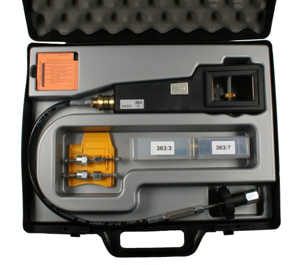 Kompressionsdruckschreiber, Diesel, 8 – 40 bar