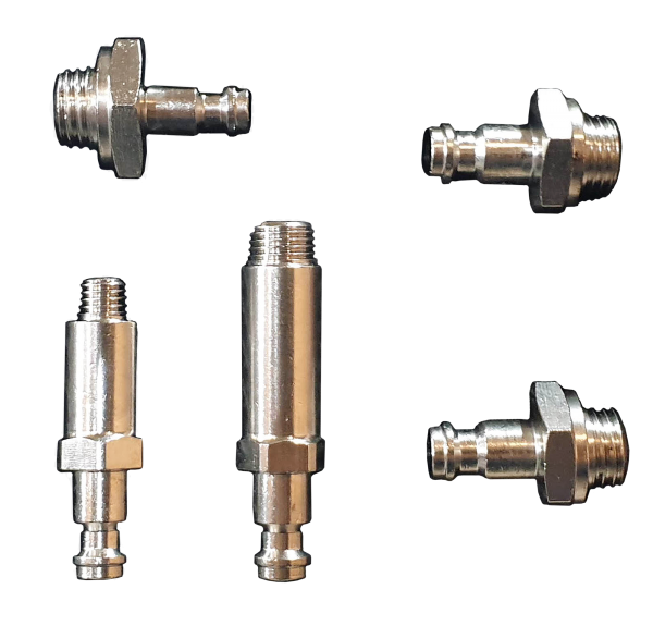 Adapter-Satz, für Drucktester, Kraftstoffhochdruck, Benzin, 5 Stück