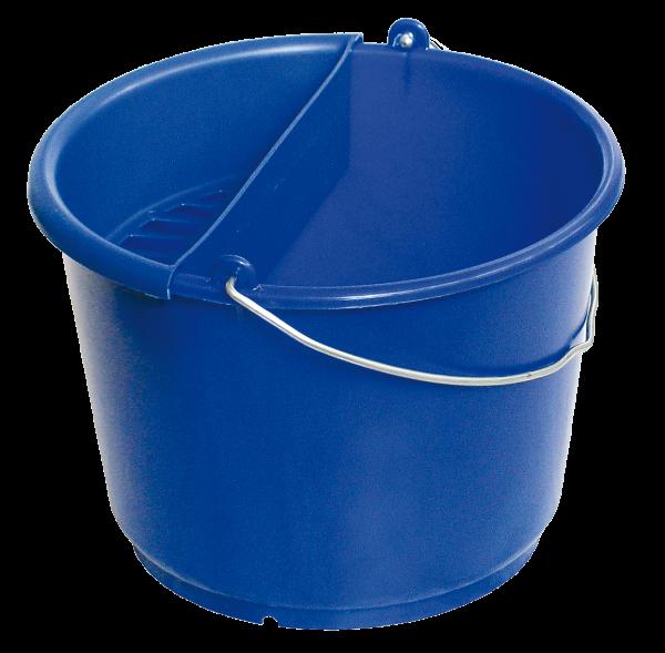 Kundendiensteimer mit Schwammeinsatz, ultramarinblau, 10 l