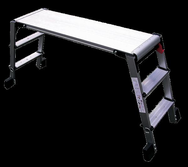 "Arbeitsbühne aus Aluminium ""XL"", 150 kg, GS-TÜV"